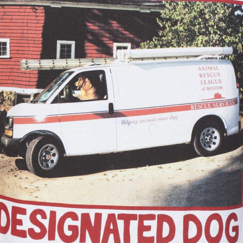 Designated dog driving van tee print.