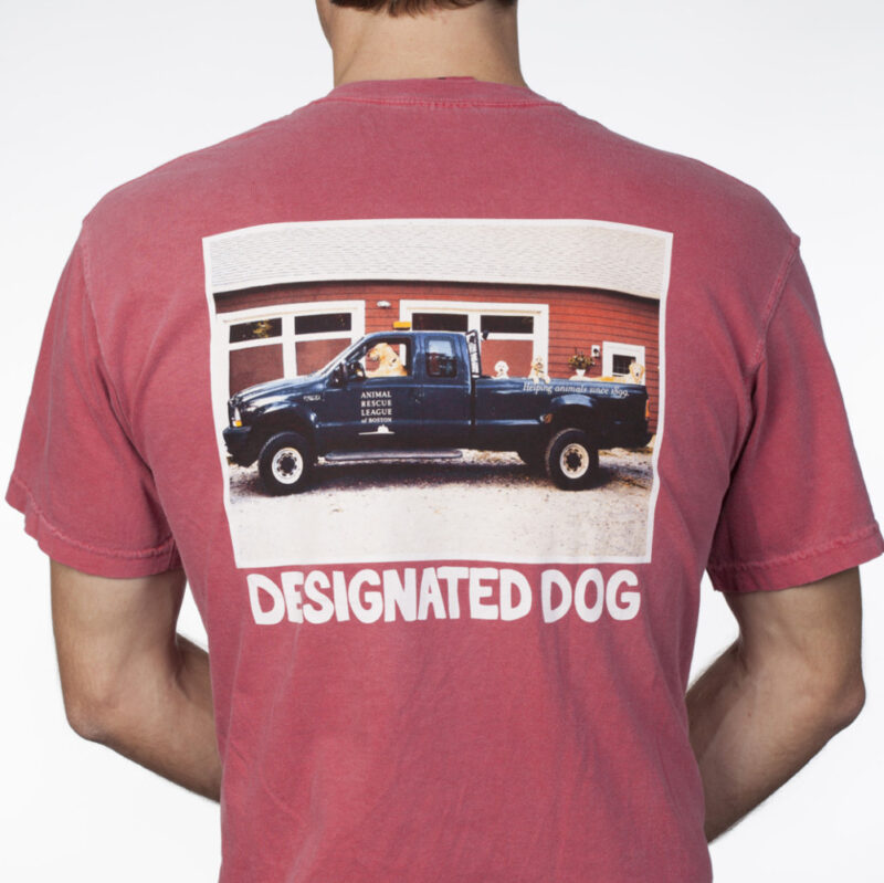 Animal rescue truck t-shirt.