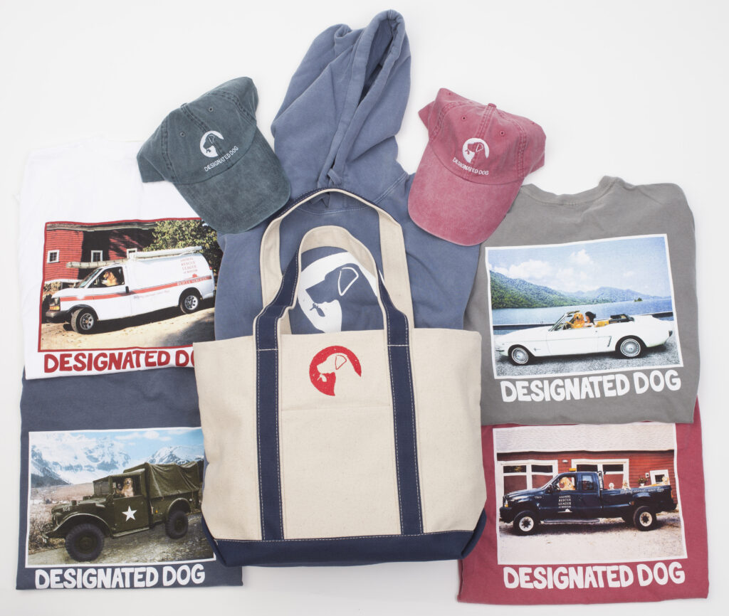 Gifts for dog lovers bundled items.