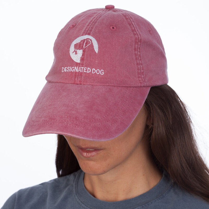 Designated Dog Hat Brick Red.