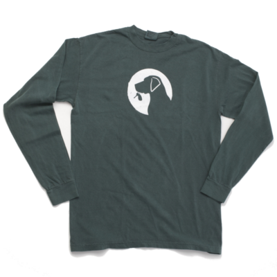 Long Sleeve Designatd Dog logo Tee