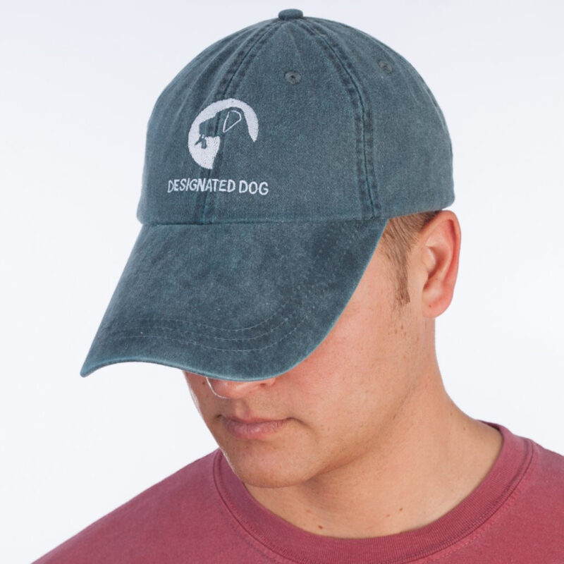Designated Dog Hat Denim Blue.
